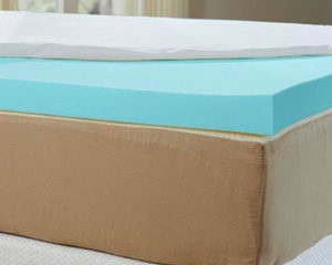 nature's sleep cooling mattress topper