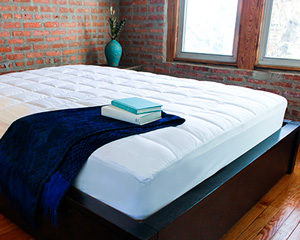 slumbercloud cooling mattress topper