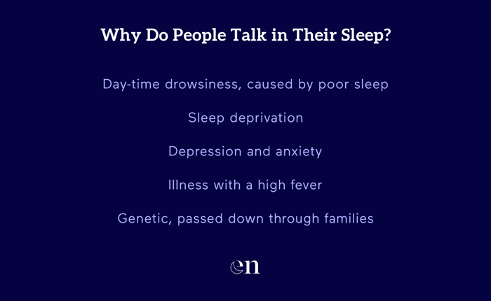 why do people talk in their sleep
