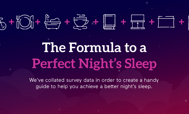 formula for perfect night's sleep