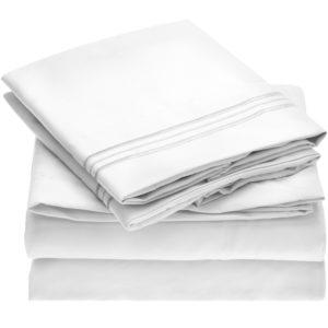 Mellanni 1800 Collection Microfiber Sheet Set