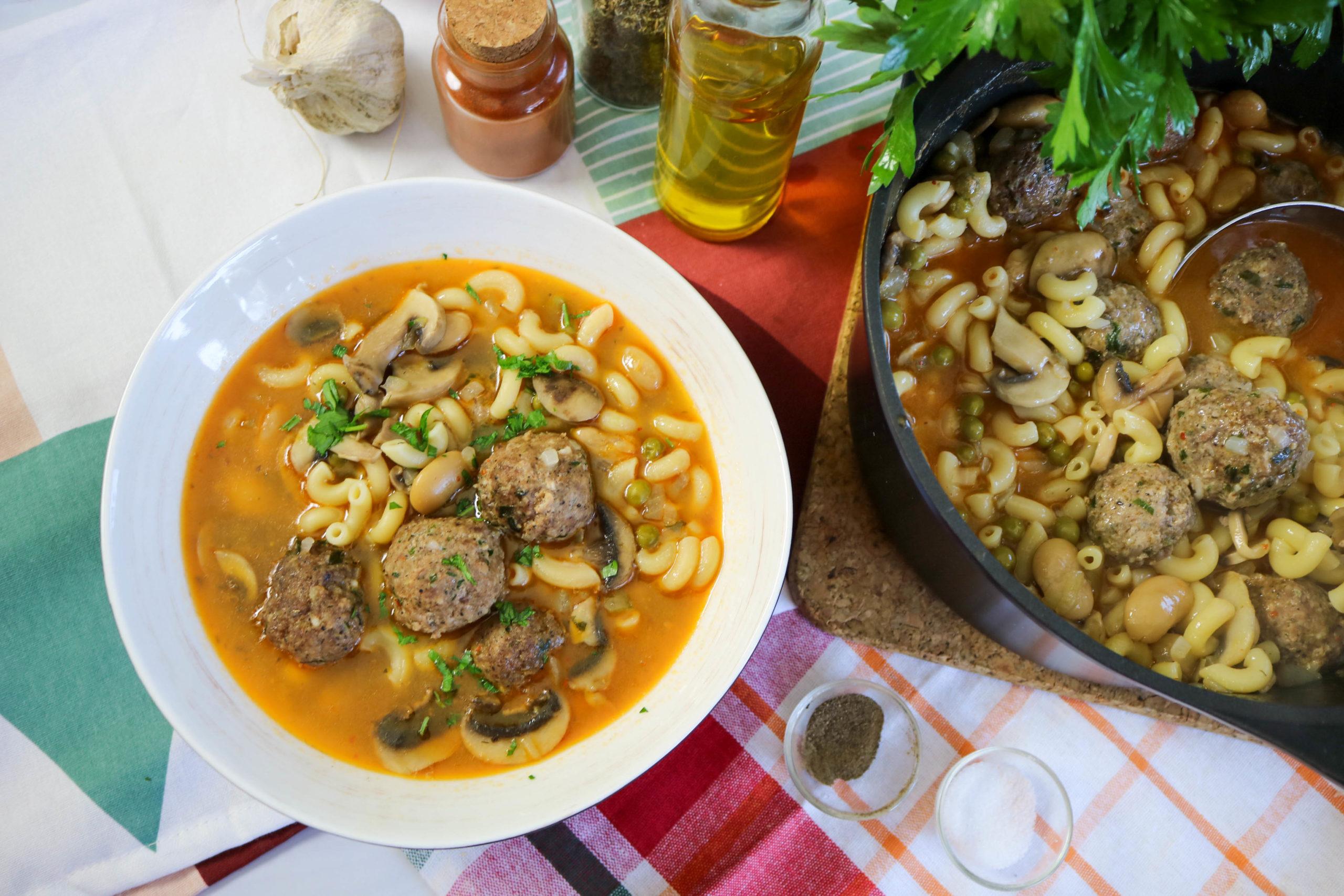 Italian Meatball Stew