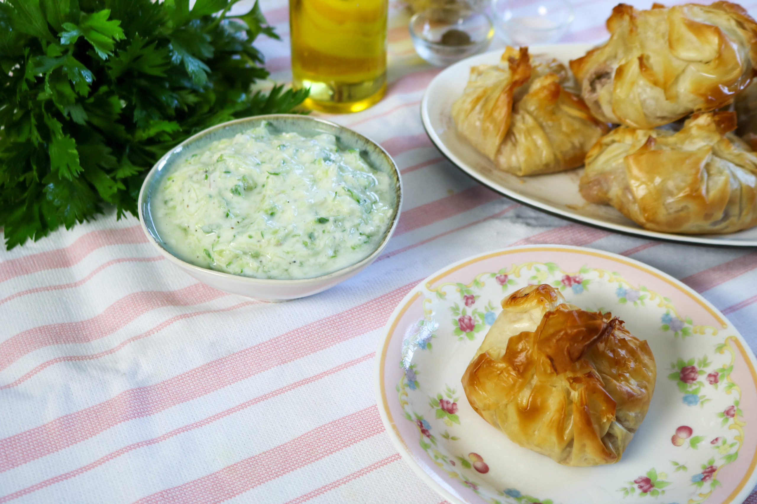 Greek Phyllo Salmon Packets