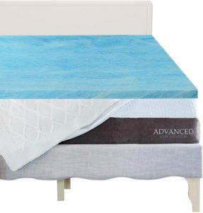 Advanced Sleep Solutions Gel Memory Foam Topper