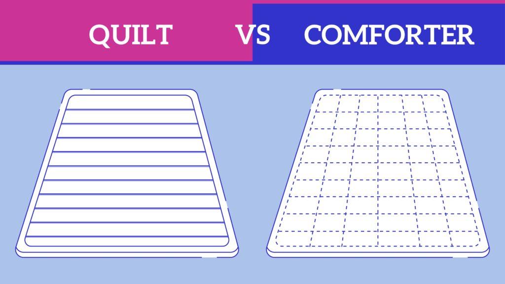 Quilt vs. Comforter