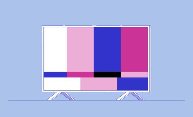 tv in the bedroom
